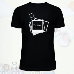 Camiseta marco de foto