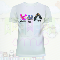 Camiseta family shoes
