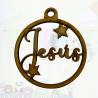 Bolita Navidad Personalizada Estrellas