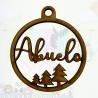 Bolita de Navidad Personalizada Abetos