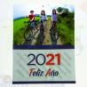 Calendarios personalizados con faldilla