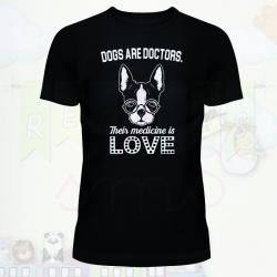 camiseta love dog