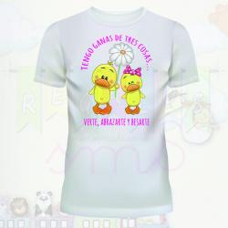 Camiseta san valentin