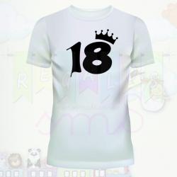 Camiseta mayoría de edad