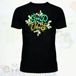 Camiseta buenas vibraciones