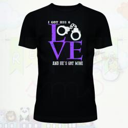 Camiseta yo tengo tu amor y tu tienes el mío