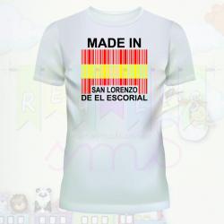 Camiseta made in...