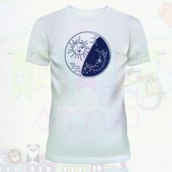 Camiseta sol y luna