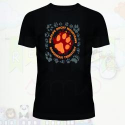 Camiseta huellas
