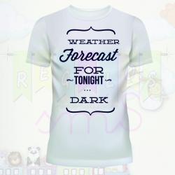 Camiseta pronóstico oscuro