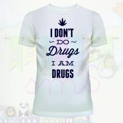 Camiseta no a las drogas